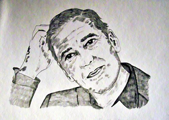 George Clooney por sky2065